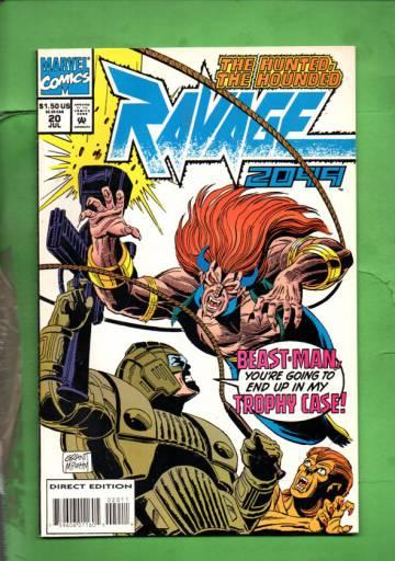 Ravage 2099 Vol. 1 #20 Jul 94