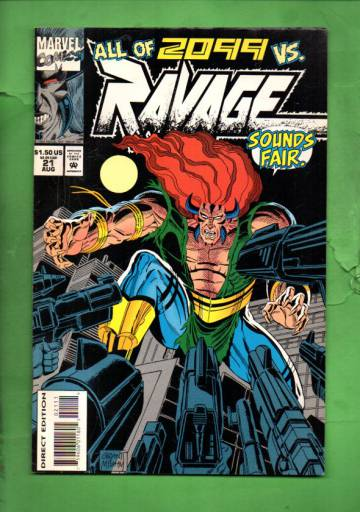 Ravage 2099 Vol. 1 #21 Aug 94