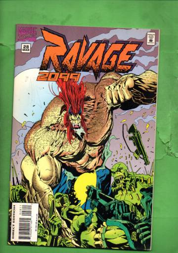 Ravage 2099 Vol. 1 #28 Mar 95