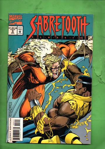Sabretooth Classic Vol. 1 #3 Jul 94