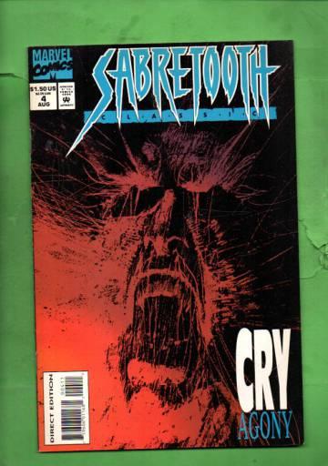 Sabretooth Classic Vol. 1 #4 Aug 94