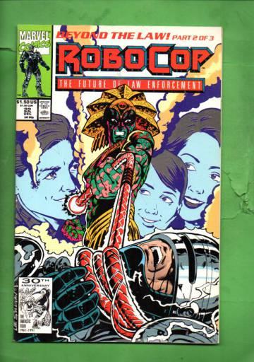 Robocop Vol 1 #22 Dec 91
