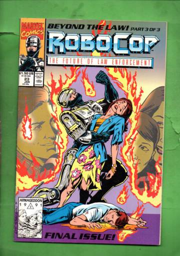 Robocop Vol 1 #23 Jan 92