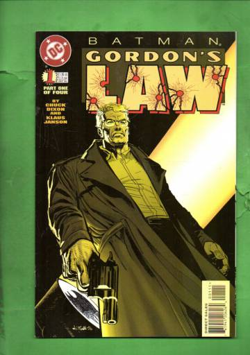 Batman: Gordon´s Law #1 Dec 96