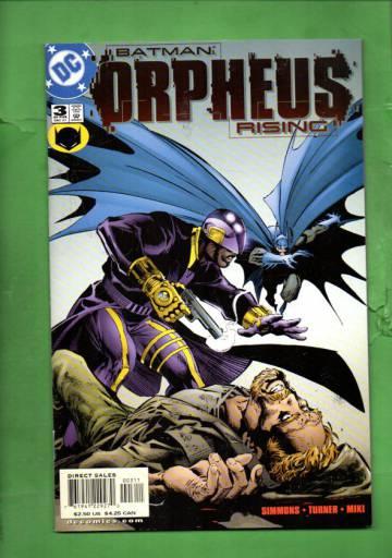 Batman: Orpheus Rising #3 Dec 01