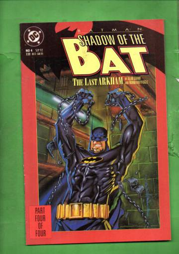 Batman: Shadow of the Bat #4 Sep 92