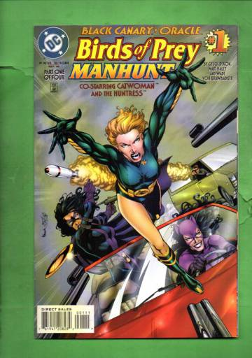 Birds of Prey: Manhunt #1 Sep 96