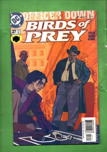 Birds of Prey #27 Mar 01
