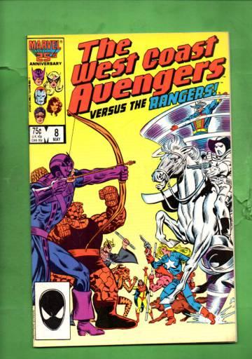 West Coast Avengers Vol 2 #8 May 86