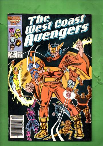 West Coast Avengers Vol 2 #9 Jun 86