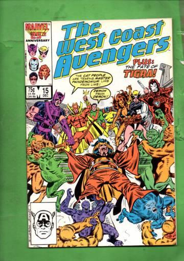 West Coast Avengers Vol 2 #15 Dec 86