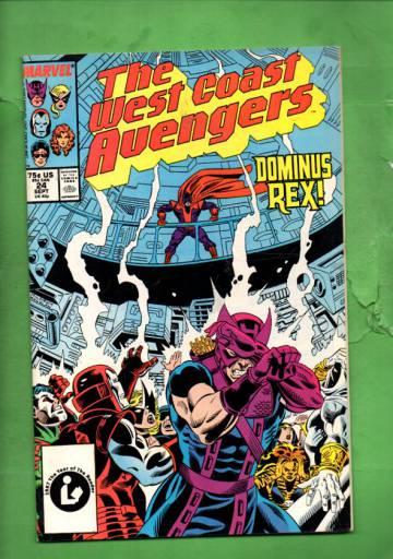 West Coast Avengers Vol 2 #24 Sep 1987