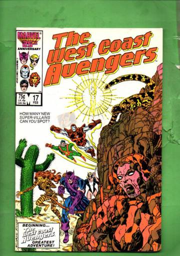West Coast Avengers Vol 2 #17 Feb 87