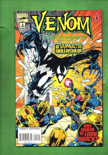 Venom: Separation Anxiety Vol 1 #2 Jan 95
