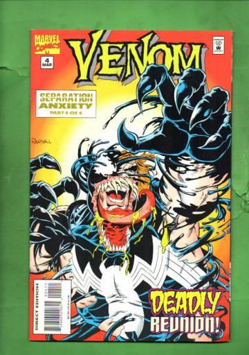 Venom: Separation Anxiety Vol 1 #4 Mar 95