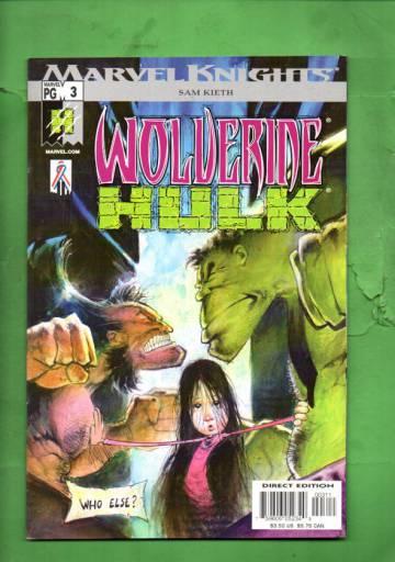 Wolverine /Hulk Vol 1#3 Jun 02