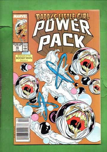 Power Pack Vol. 1 #45 Apr 89