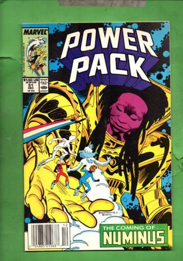 Power Pack Vol. 1 #51 Dec 89