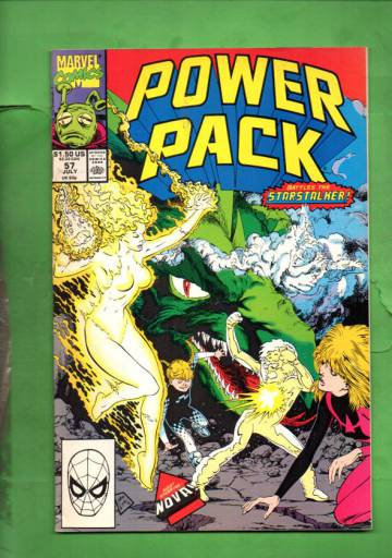 Power Pack Vol. 1 #57 Jul 90