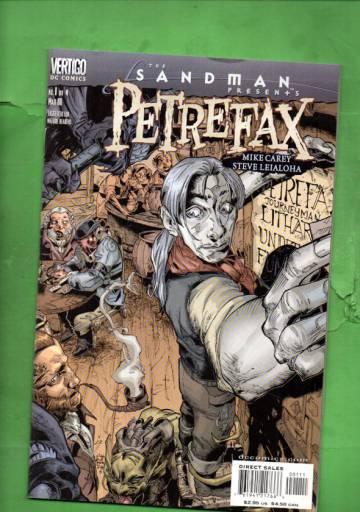 Sandman Presents: Petrefax #1 Mar 00