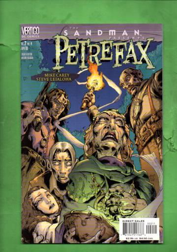 Sandman Presents: Petrefax #2 Apr 00