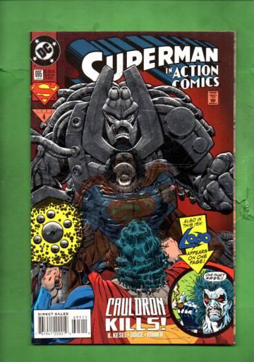 Action Comics #695 Jan 94