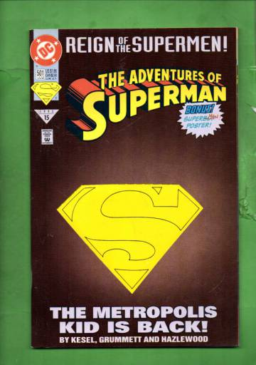 Adventures of Superman #501 Late Jun 93