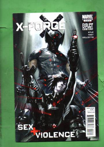 X-Force: Sex and Violence #3 Nov 10