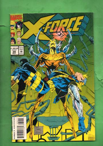 X-Force Vol.1 #39 Oct 94