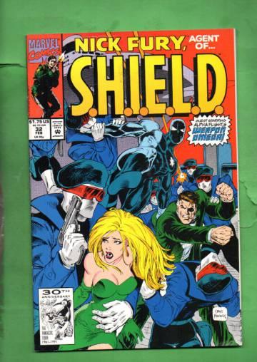 Nick Fury, Agent of S.H.I.E.L.D. Vol. 2 #32 Feb 92