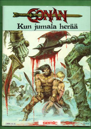 Conan-spesiaali 2/86 - Kun jumala herää
