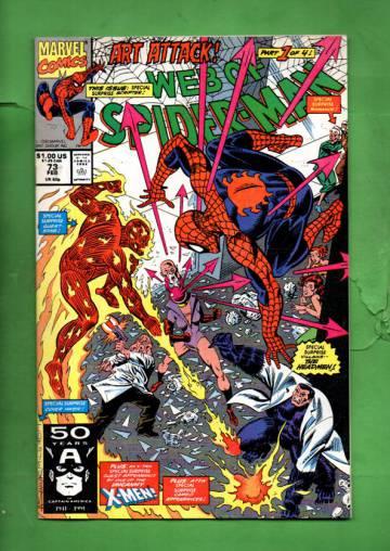 Web of Spider-Man Vol. 1 #73 Feb 91