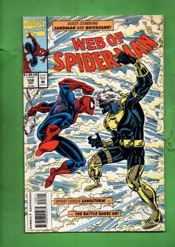 Web of Spider-Man Vol. 1 #108 Jan 94
