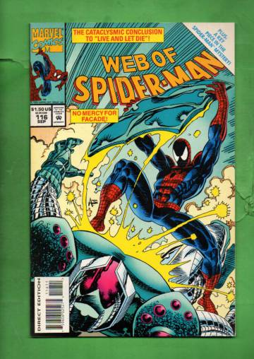 Web of Spider-Man Vol. 1 #116 Sep 94