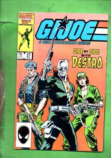 G.I. Joe a Real American Hero Vol. 1 #57 Mar 87