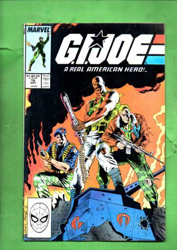 G.I. Joe a Real American Hero Vol. 1 #76 Sep 88