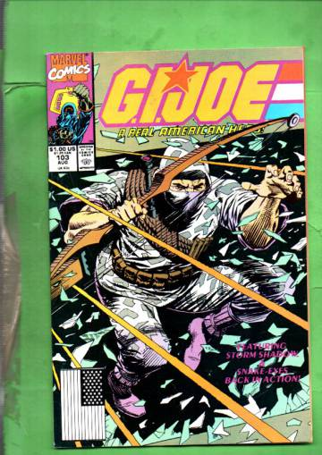 G.I. Joe a Real American Hero Vol. 1 #103 Aug 90