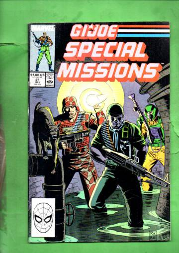 G.I. Joe Special Missions Vol. 1 #21 May 89