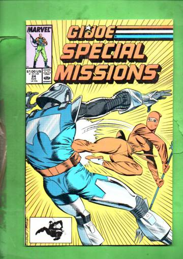 G.I. Joe Special Missions Vol. 1 #24 Aug 89