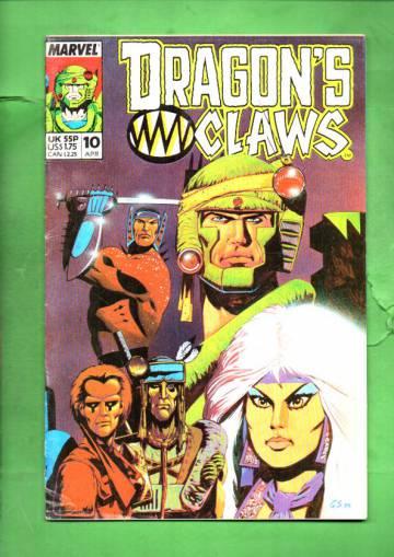 Dragon's Claws Vol. 1 #10 Apr 89