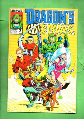 Dragon's Claws Vol. 1 #7 Jan 89