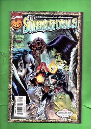 The Supernaturals Vol. 1 #2 Dec 98