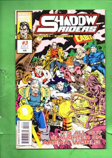 Shadow Riders Vol. 1 #3 Aug 93