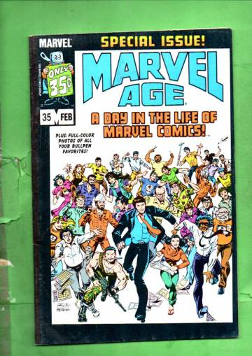 Marvel Age Vol. 1 #35 Feb 86