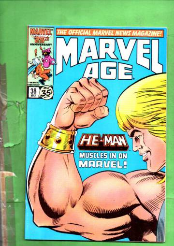 Marvel Age Vol. 1 #38 May 86