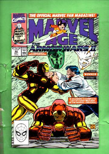 Marvel Age Vol. 1 #92 Sep 90