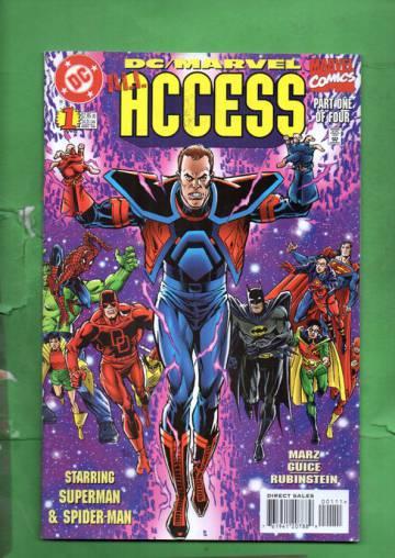DC/Marvel: All Access #1 Dec 96