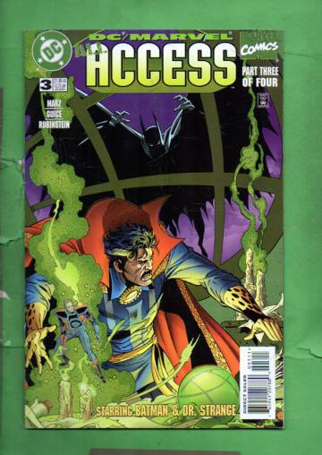 DC/Marvel: All Access #3 Late Jan 97