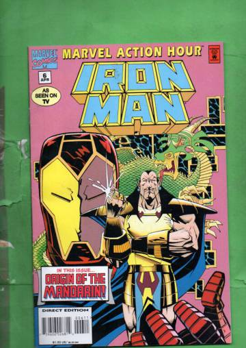 Marvel Action Hour, Featuring Iron Man Vol. 1 #6 Apr 95