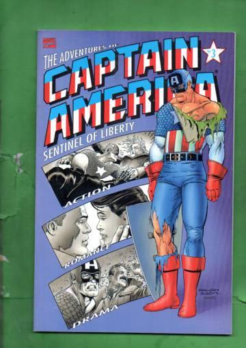 Adventures of Captain America Vol. 1 #3 Dec 91